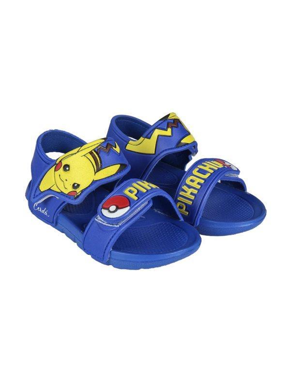 De Niños Pikachu Azul 29 Sandalias Playa 45A3RjL