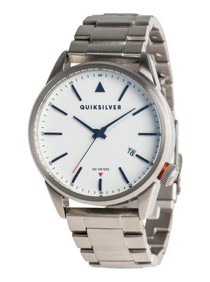 4ce10a3d4573 The timebox 42 metal - reloj analógico para hombre - gris. Quiksilver
