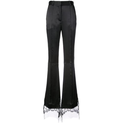 Pantalones Acampanados De Vestir Negro
