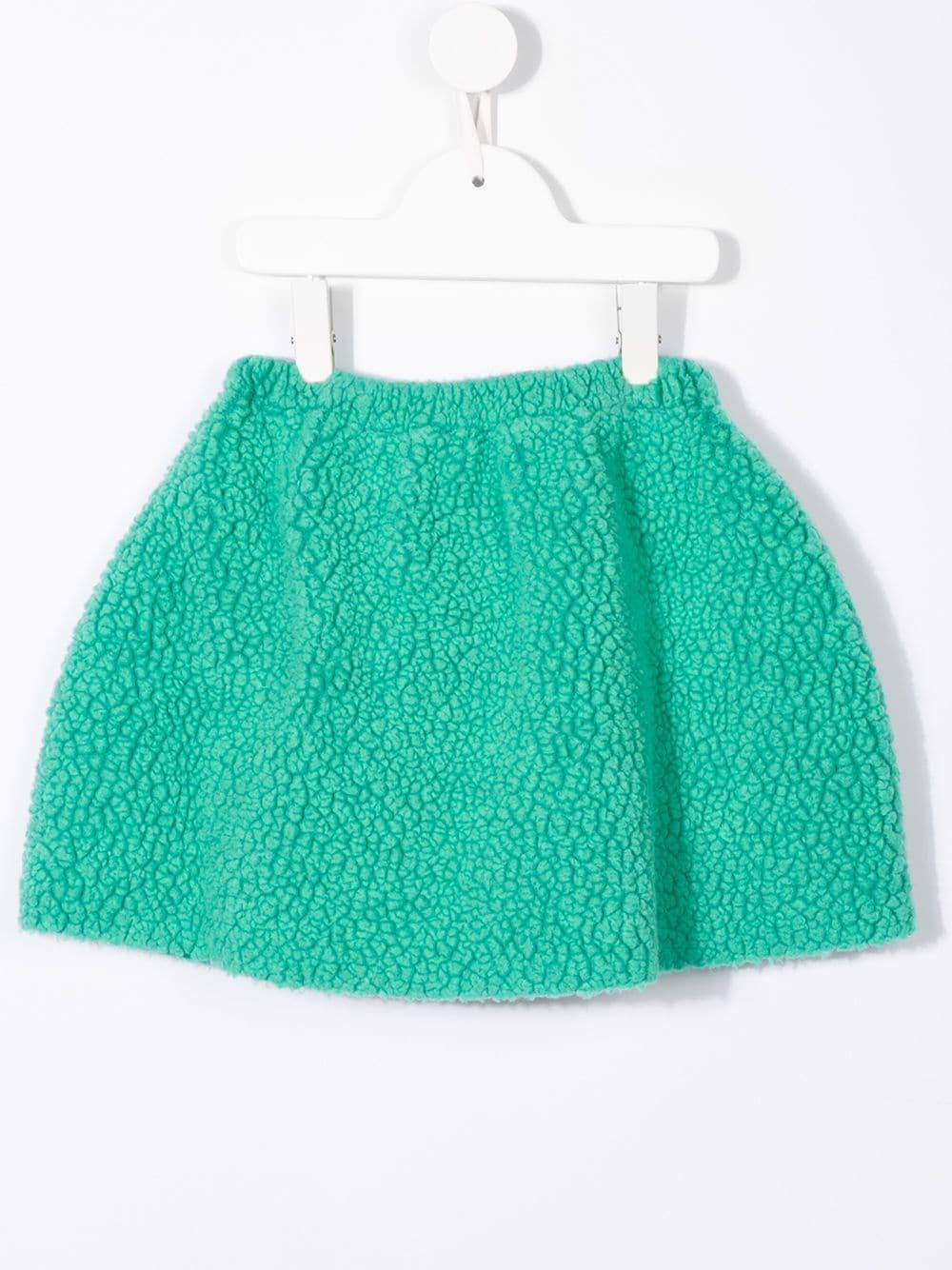8ec0a20e4 Falda con detalle de pulpo bordado - verde
