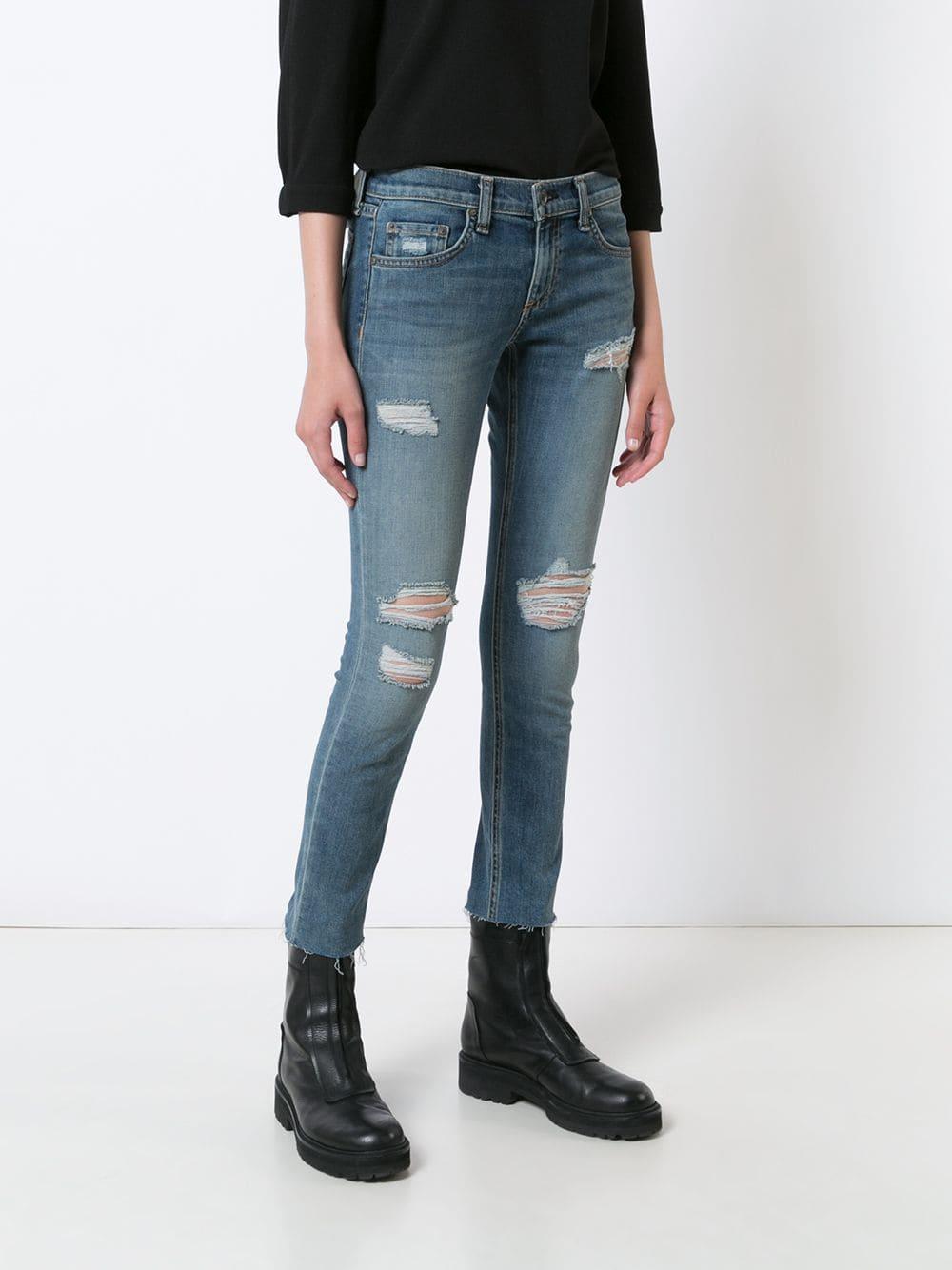 Pitillo El Missguided De Asos azul Pantalones Jeans orCBeQxWd