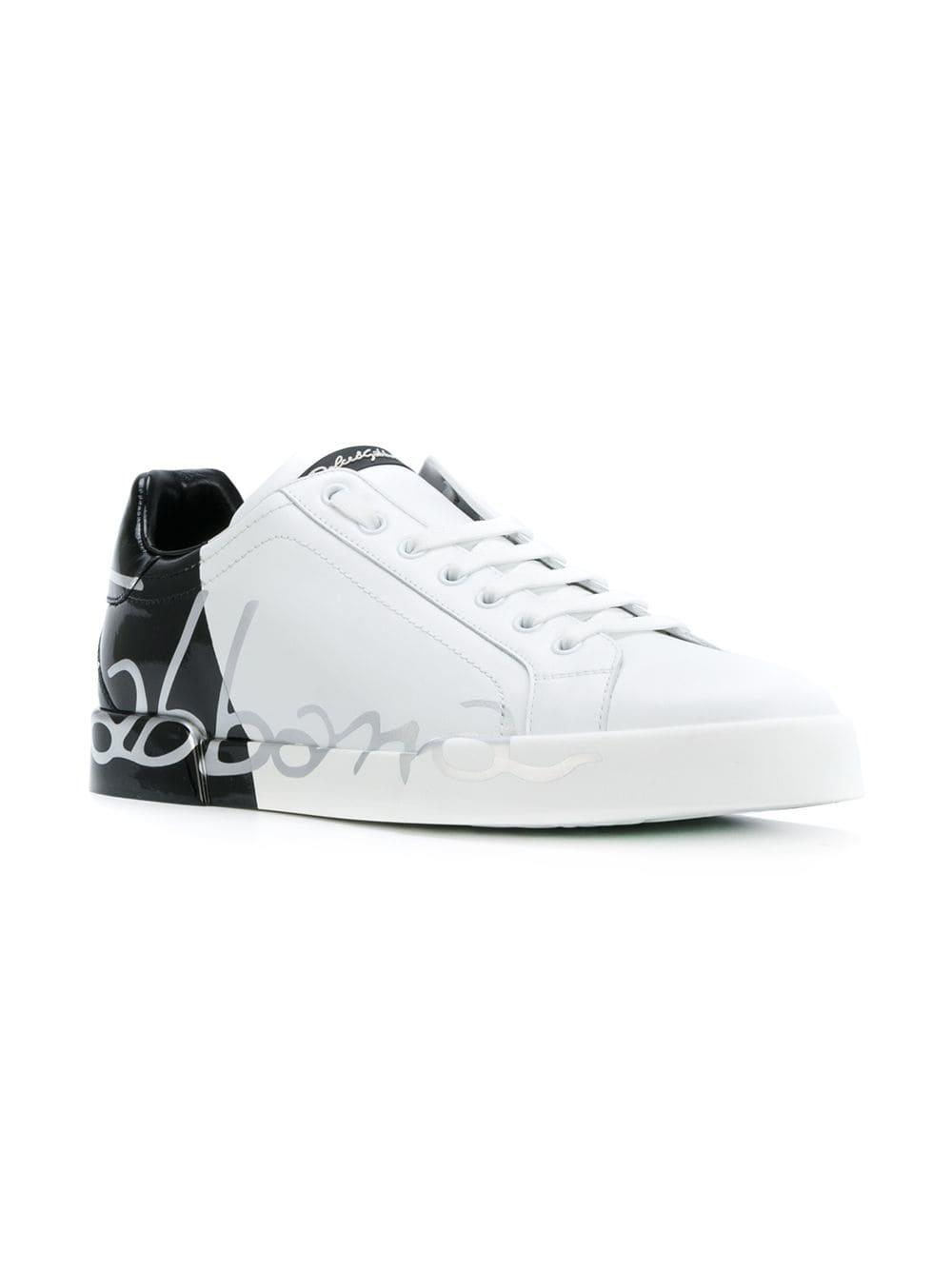 037baa01e9 Zapatillas con logo escrito a mano - blanco