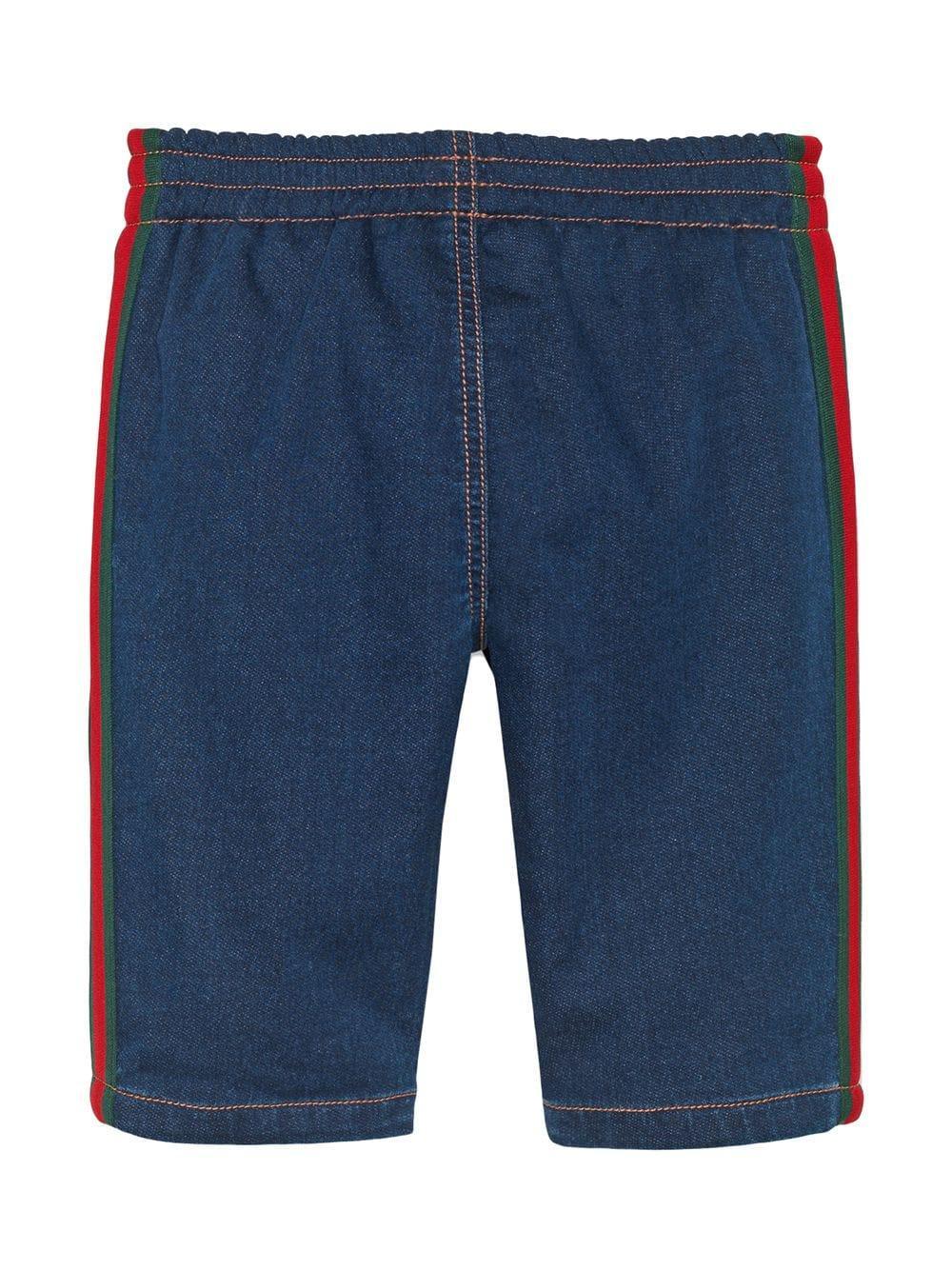 dc3967bae Kids shorts vaqueros con detalle web ... 190