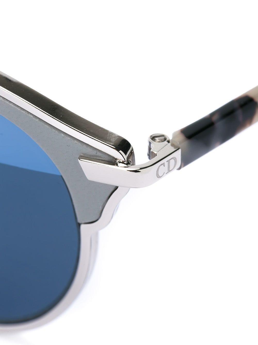 52749d7098 Dior eyewear gafas de sol con montura redonda - marrón