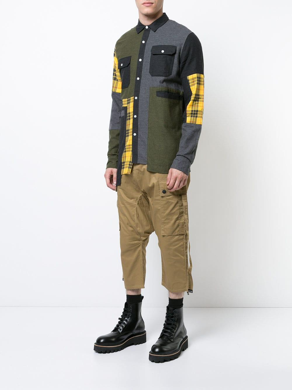 De 8sgaq4bq Hombre Makro Camisas Franela En 0YW8qRfv