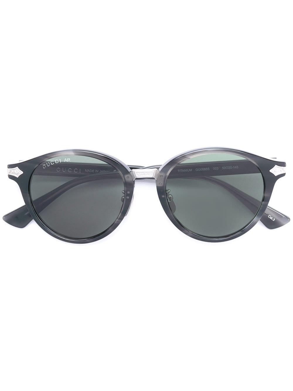 7330903c5c Eyewear gafas de sol con montura redonda - verde