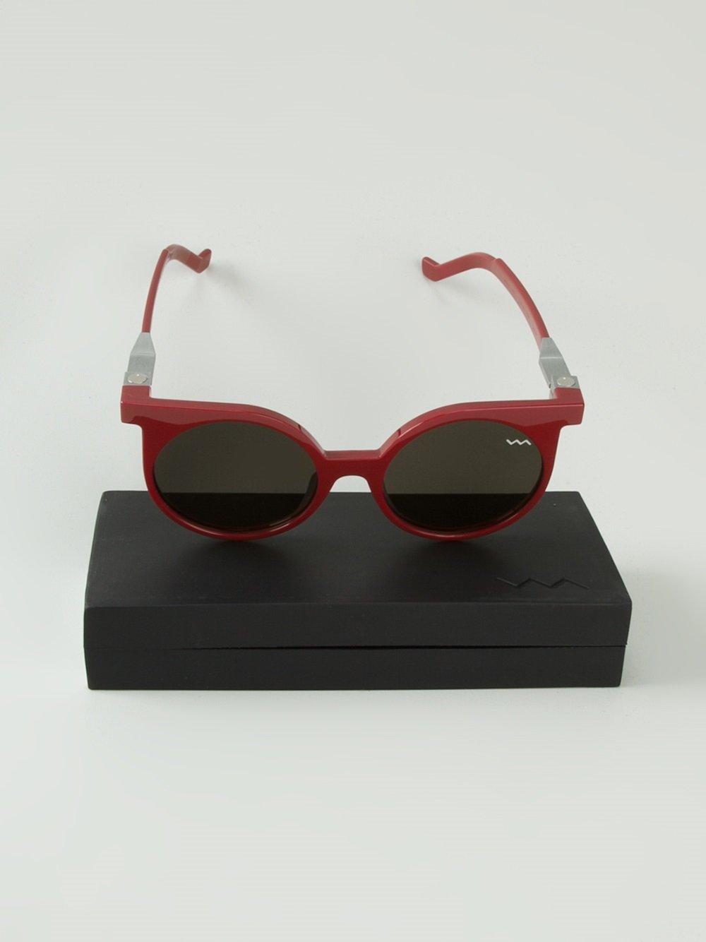 f4152b8010 Gafas de sol redondas wl001 - rojo