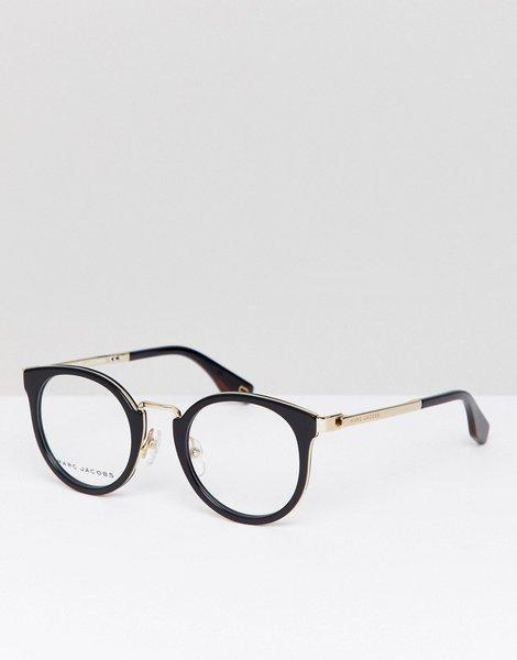 ea98fd9df0 Gafas con montura ojos de gato en negro y lentes ópticas