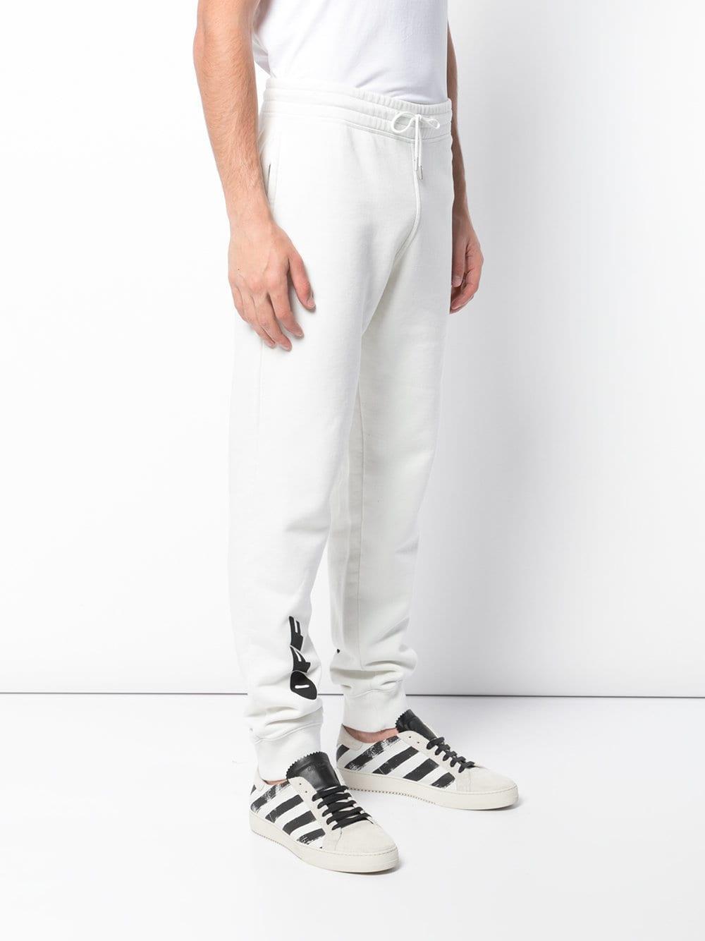 Off-white pantalones de chándal estampados - blanco 89073846d1a0