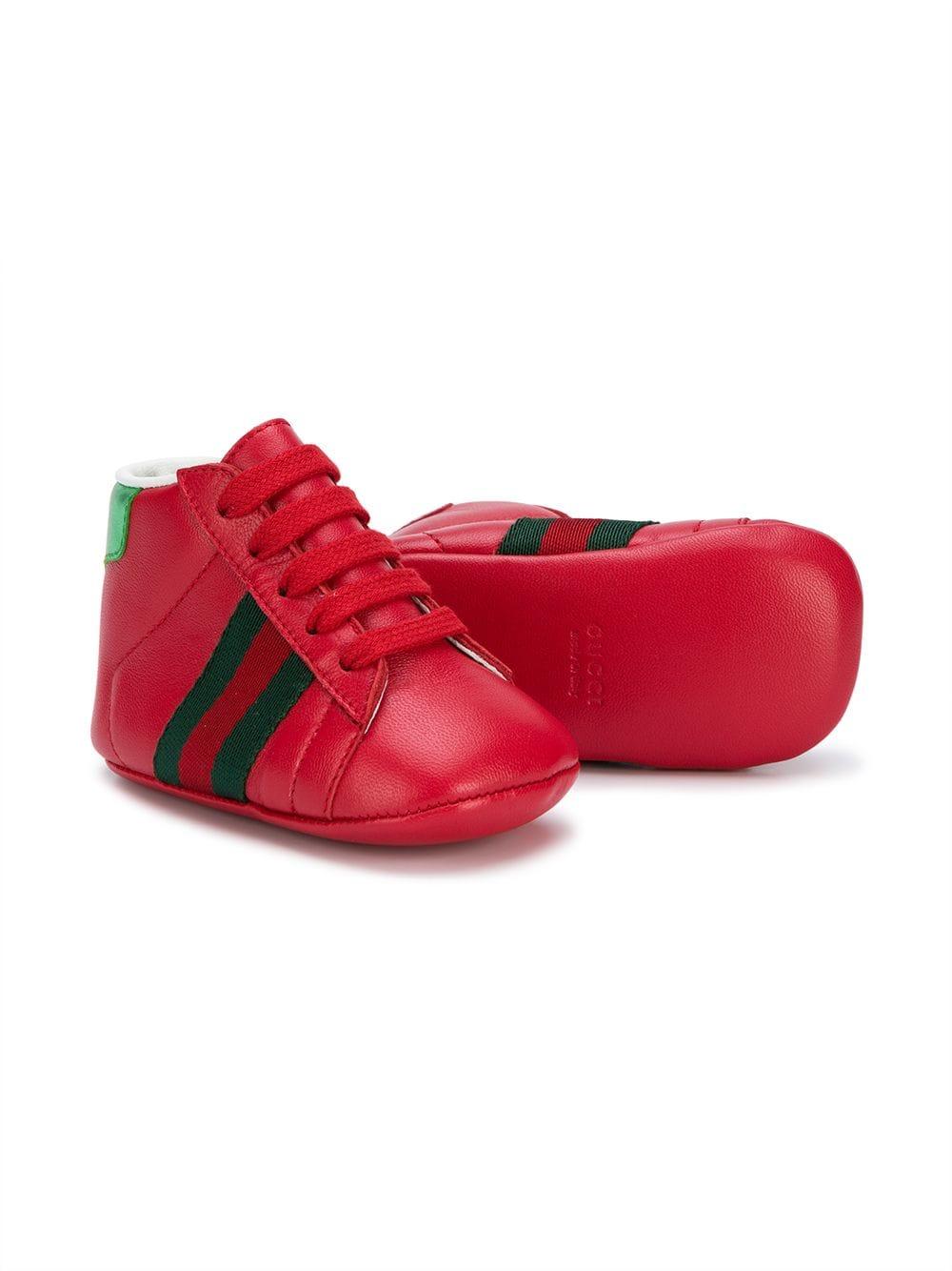 22b1a0a49 Kids botas con raya lateral - rojo