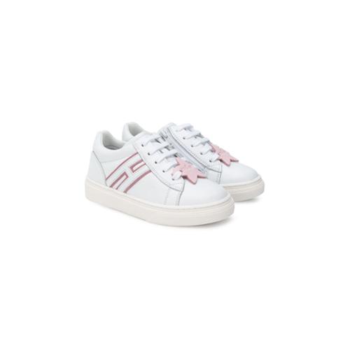 329d5bbc7 Kids zapatillas con aplique de estrella y logo - blanco