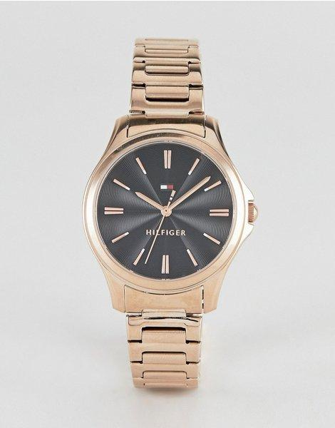 eb9d5a7408fb Reloj de pulsera dorado de 35 mm loru. Tommy Hilfiger