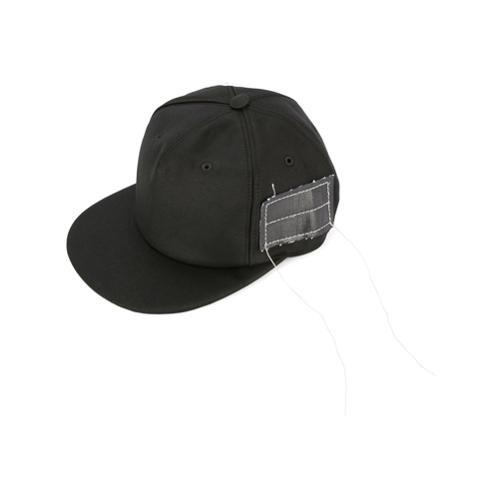 4019e295960a Drkshdw gorra con parche con costuras - negro