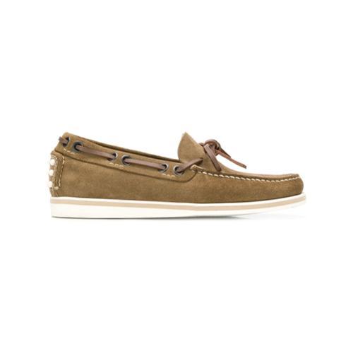 e6430fe5 Zapatos náuticos clásicos - verde