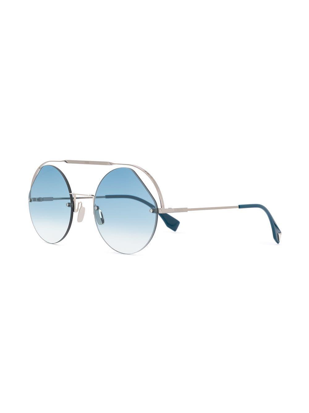 6e287dec20 Eyewear gafas de sol ribbons & crystals - plateado