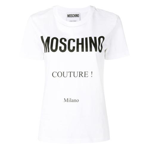 Camiseta Estampado Camiseta Con Con Blanco Logo r8SrI