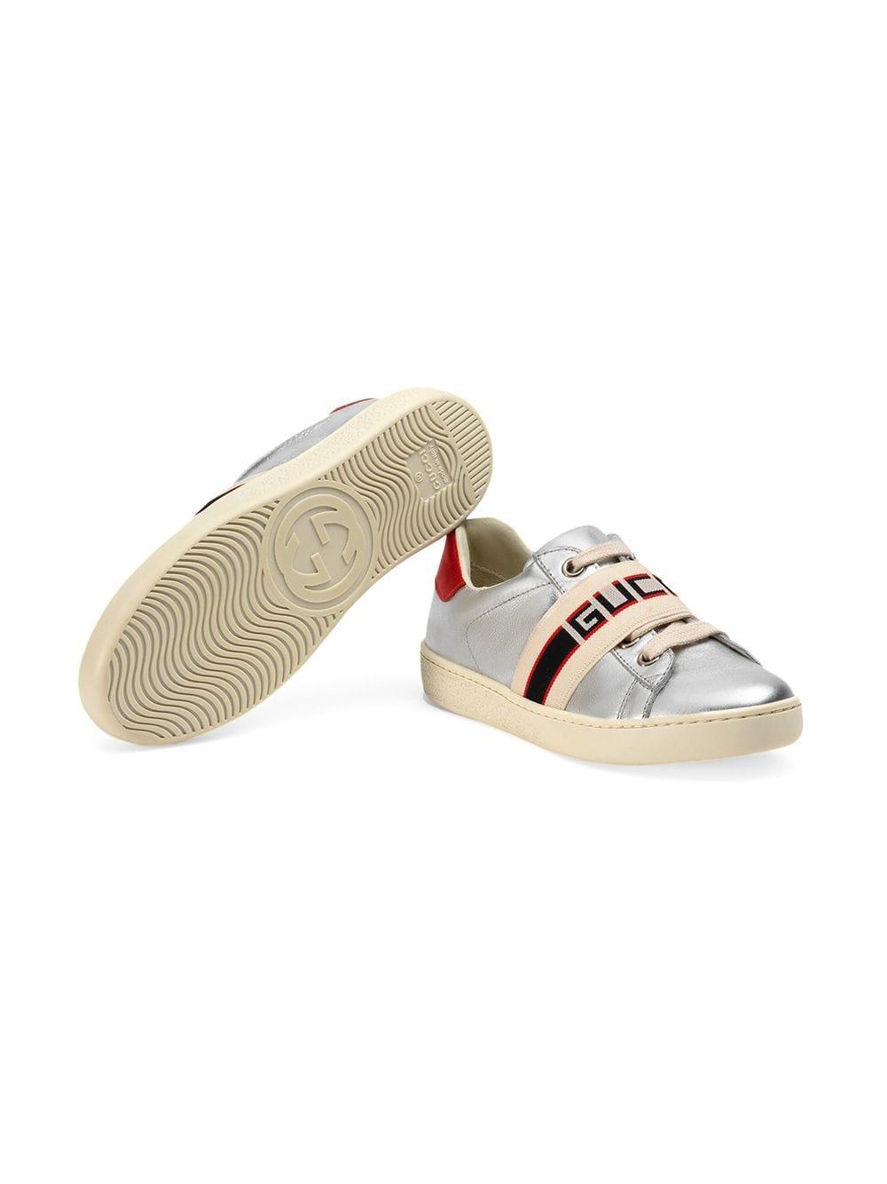 8c6092735 Kids zapatillas ace con rayas - plat.