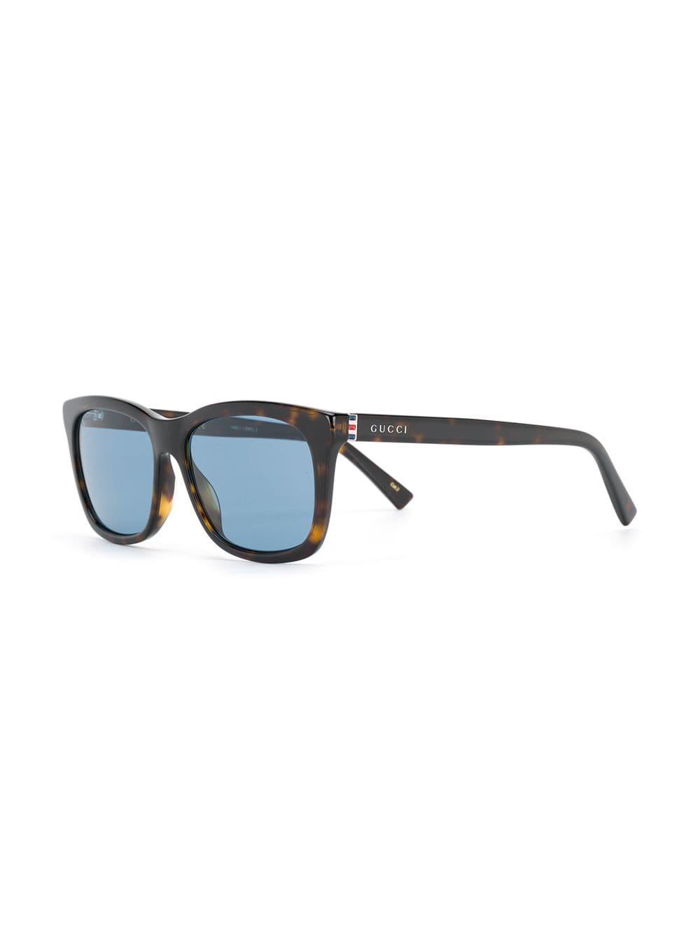 432af08d4b Gafas Eyewear gafas de sol con montura rectangular - marrón Gucci