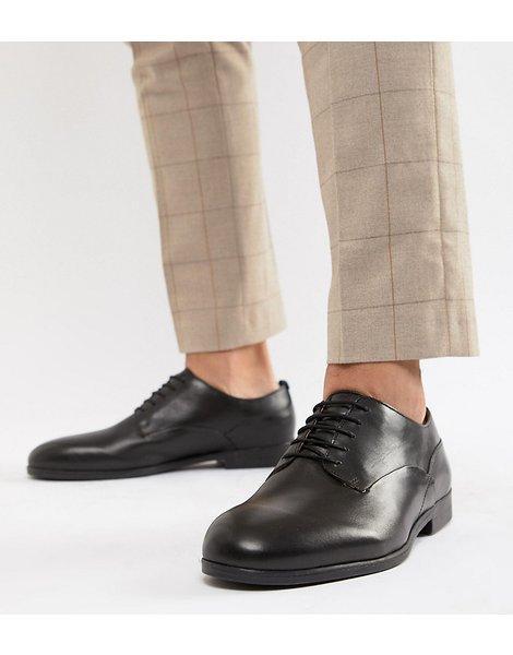 02f0c2c7 Zapatos de vestir en cuero negro axminster de h by wide fit. Hudson