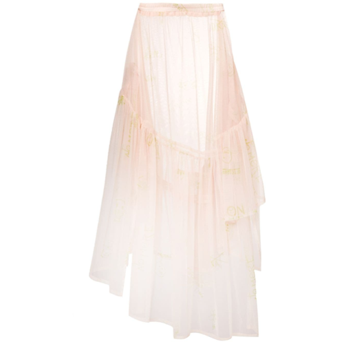 46624f8ba Faldas Falda transparente de tul - neutro Barbara Bologna