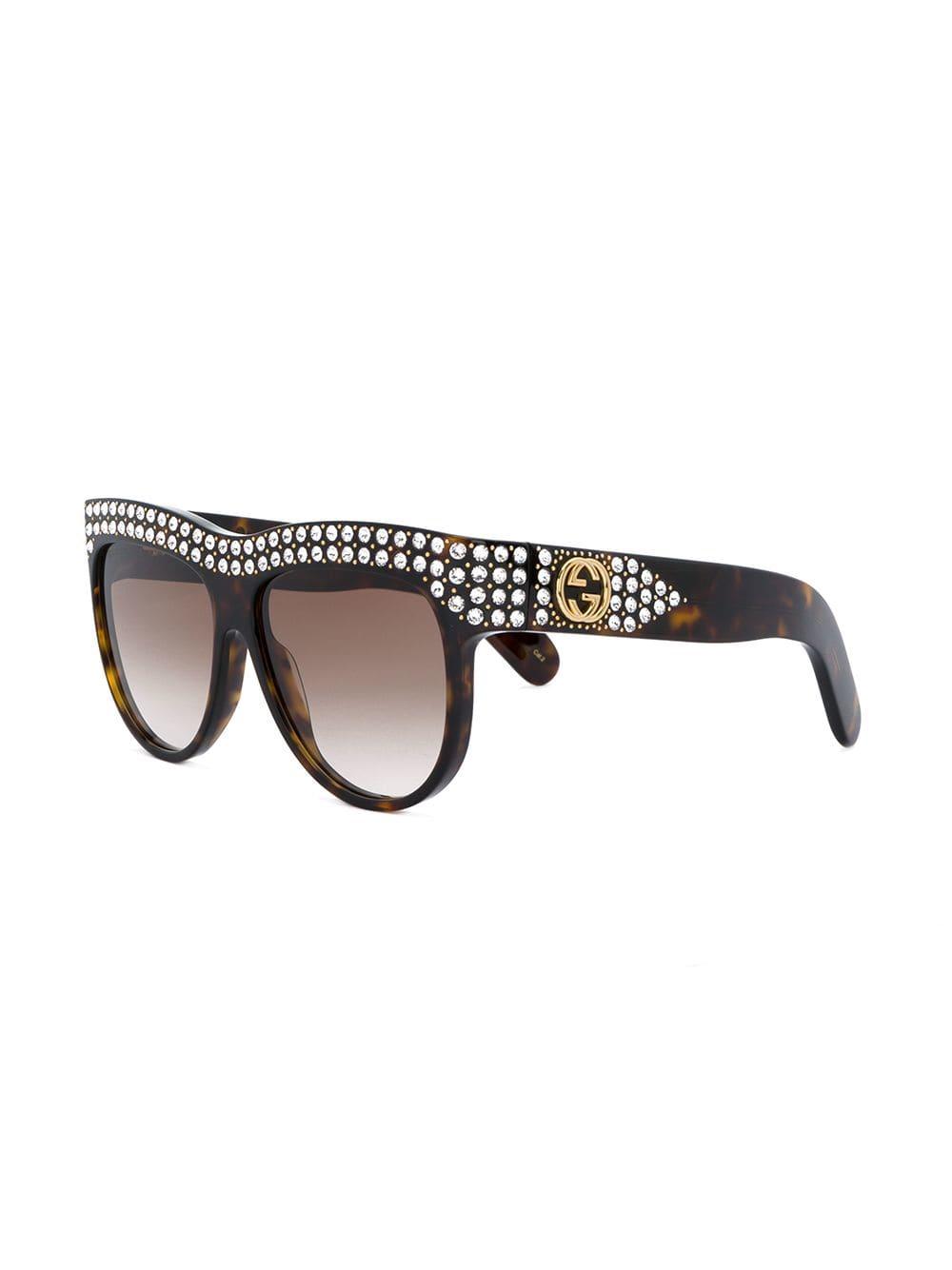 c242c1bfdf Eyewear gafas de sol con cristales - marrón