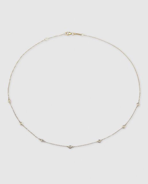 72a4e548c822 Collar de oro amarillo y diamantes
