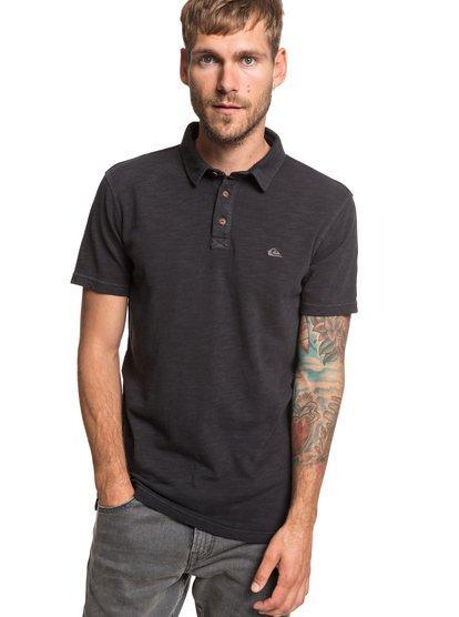 Everyday sun cruise - camisa polo de manga corta para hombre - negro 4521fb81d5e3b