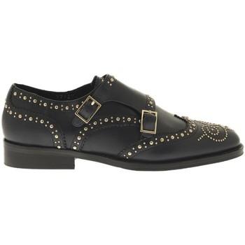 Para Blucher Mujer Azul Doble Zapatos L5202p Hebilla w8qxYxSB