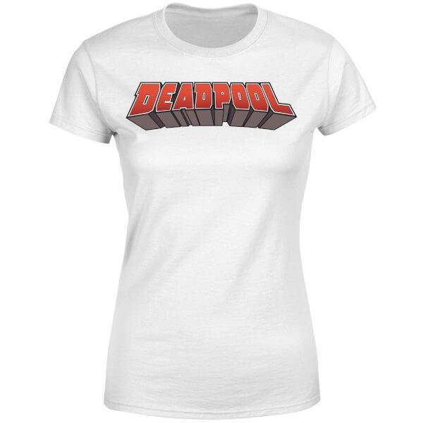 Logo Blanco Marvel Xxl Camiseta Mujer S5O8wxtgq