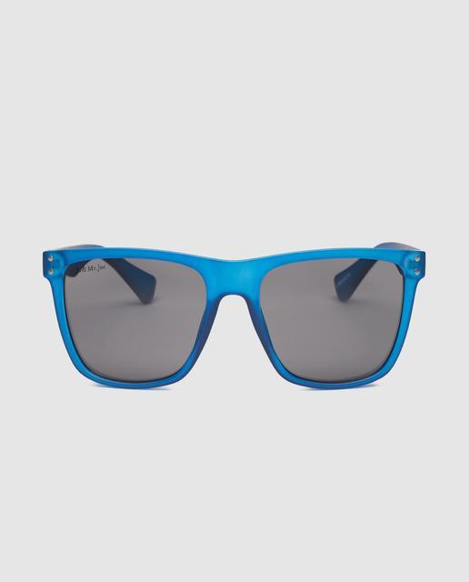 Gafas de sol de hombre camaron en azul translucido 27510e813c75