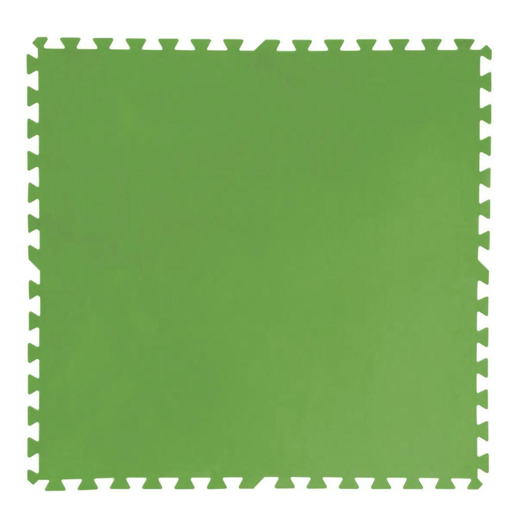 62be713f565 Protectores de suelo de piscina 8 uds 81x81 cm verde 58265
