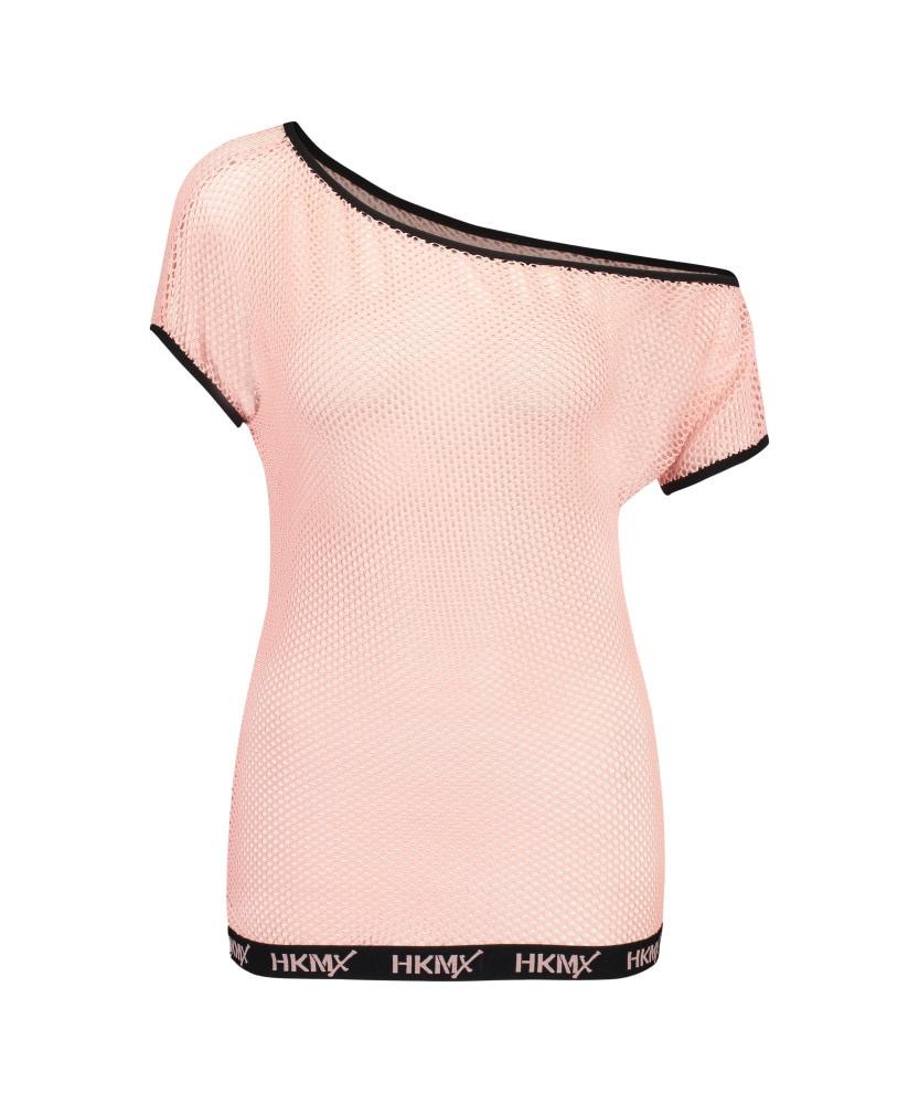 35d3a8031 Hunkemöller camiseta deportiva de hombro descubierto hkmx rosa