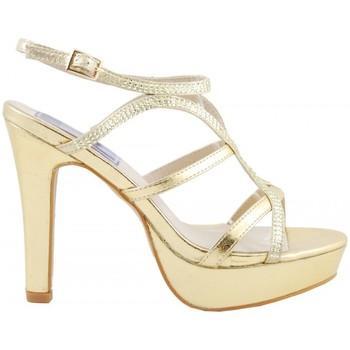 Fiesta Oro Para Alto Sandalias Sandalia Plataforma Brillos Mujer Tacón iPkuOXTwZ