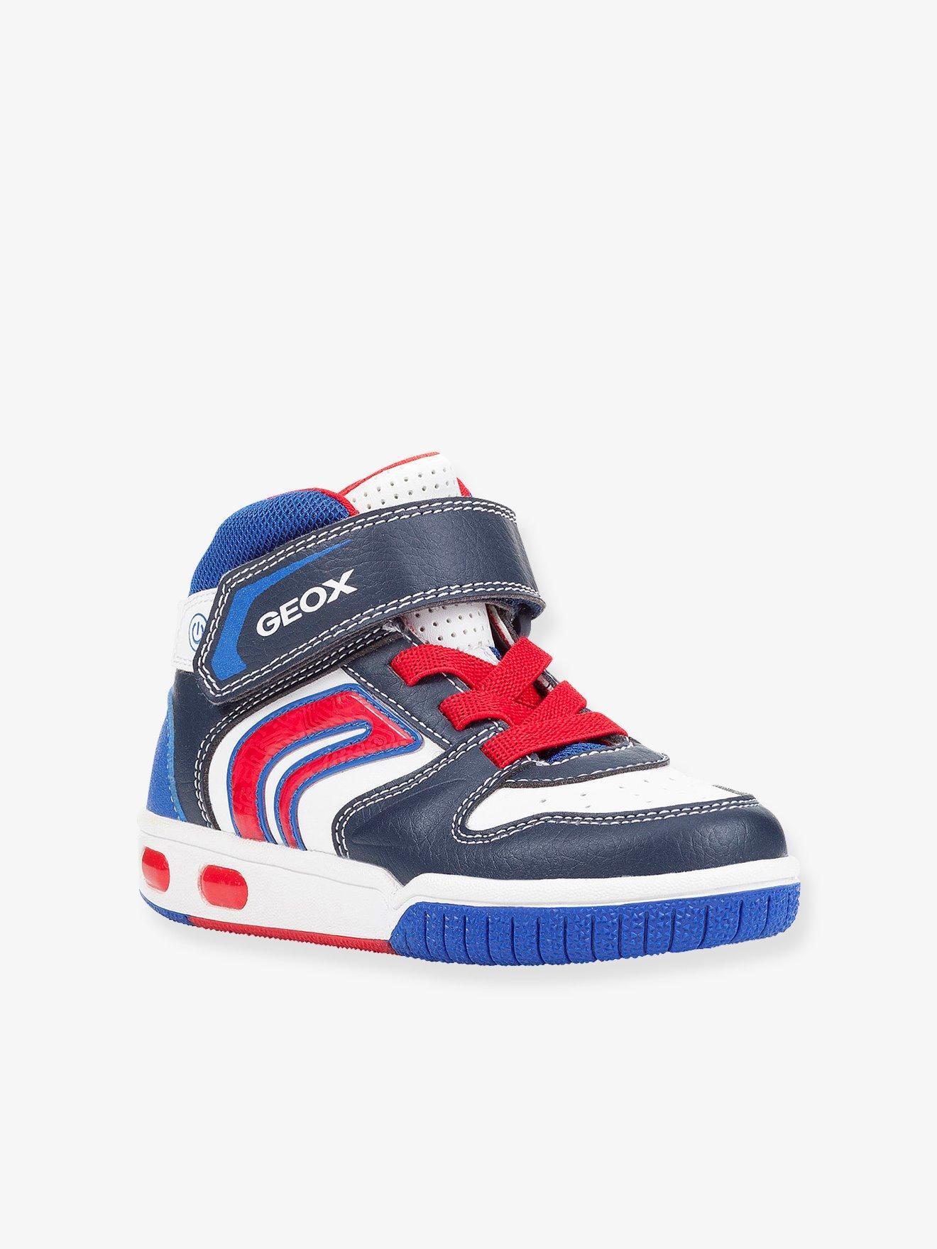 1bb57fd1 Zapatillas de caña alta para niño gregg boy high geox® azul medio  bicolor/multicolor