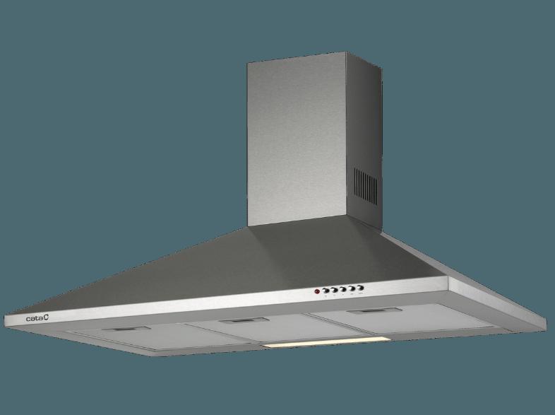 6ee0f253a Campana - 02085302 v 700 inox, decorativa, 70 cm, 3 velocidades, 420 m3/h
