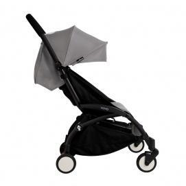 Silla yoyochasis paseo gris de negro tapizado rCxdBoe
