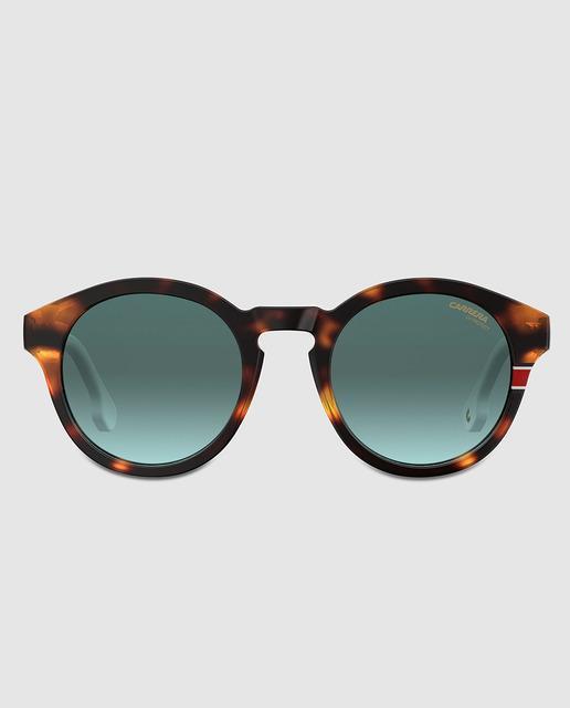 2bcc98ecbc Gafas de sol redondas de acetato habana y blanco