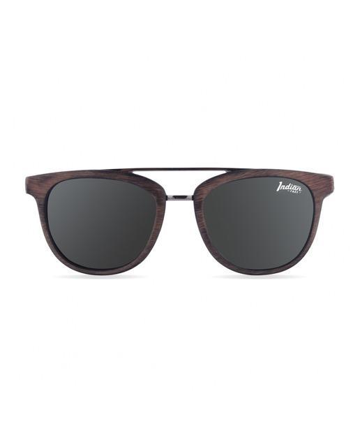 d1968e8678 Gafas de sol noosa brown wooden marrón con lentes polarizadas. The indian  face