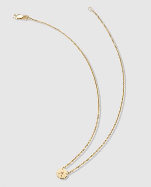 cfcfafba8259 Colgante a de plata bañada en oro