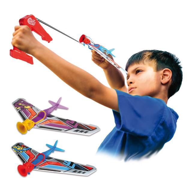 Varios Modelos World Brands Crazy Darts Lanzador de Larga Distancia