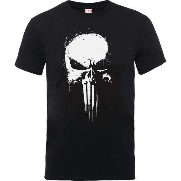 Camiseta el castigador pintura aerosol - hombre - negro - xxl - negro dc0c6e61e931d