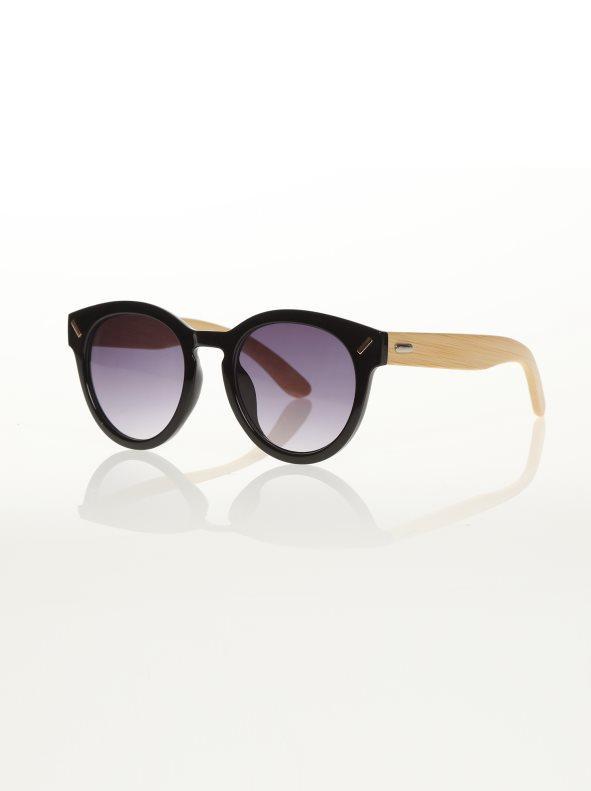 eeab145728 Gafas de sol bicolor con cristales ahumados negro