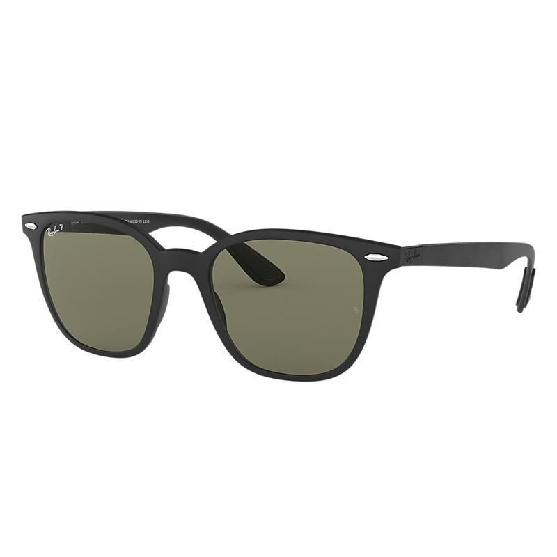 cc0cb6b68bd98 Rb4297 unisex sunglasses lentes  verde polarizadas, montura  negro - rb4297  601s9a 51-19
