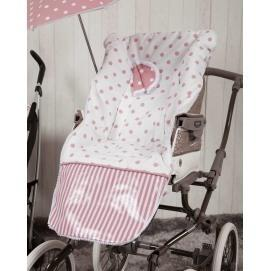 115458cd2 Funda de silla carrusel rosa