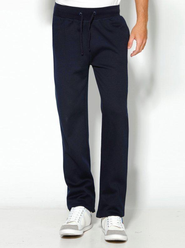3286293a36 Pantalón de chándal largo hombre con bolsillos marino xl