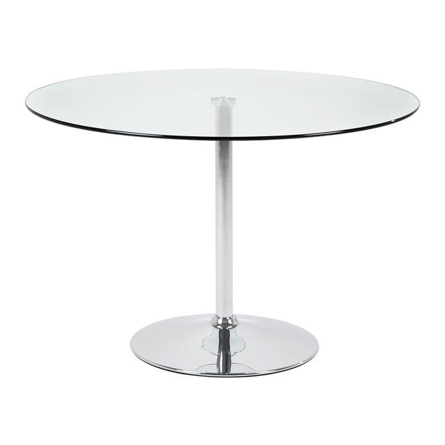 Mesa de cocina de cristal becky