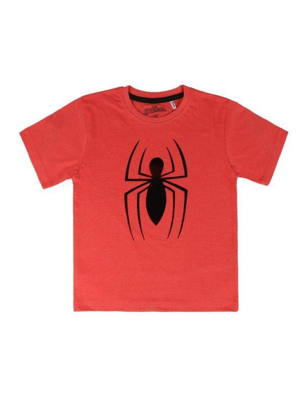 629541d14 Camiseta manga corta estampada niño rojo 4. Spiderman