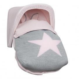 grupo 0 Saco porta beb/é color rosa Babyline Sue/ños