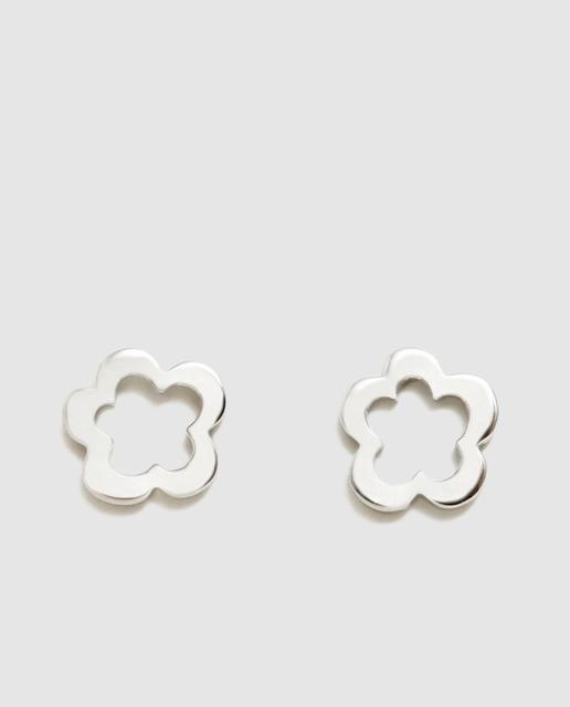 e4c9794cb8b1 Pendientes ágatha ruiz de la prada anita flor de plata